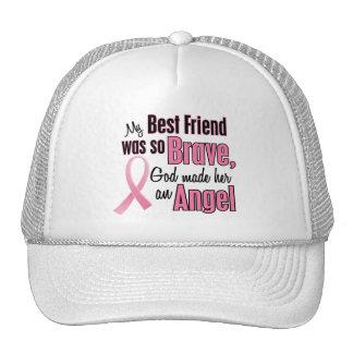 Angel BEST FRIEND Breast Cancer T-Shirts & Apparel Trucker Hat