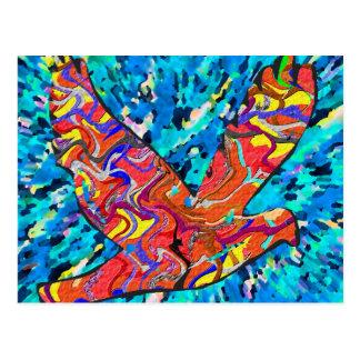Angel Bird Postcard