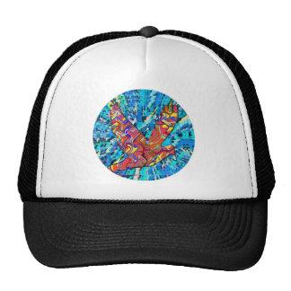 Angel Bird  - Round Cap