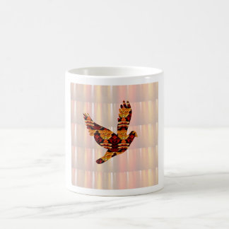 ANGEL bird TEMPLATE Colored easy to ADD TEXT and I Coffee Mugs