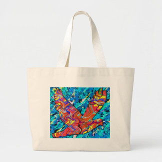 Angel Bird Jumbo Tote Bag