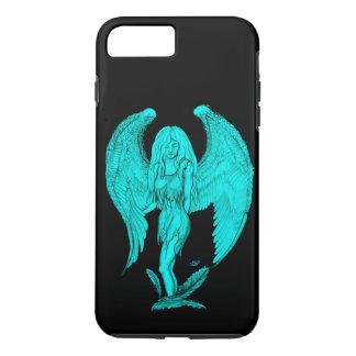 Angel , Black and Green design iPhone 8 Plus/7 Plus Case