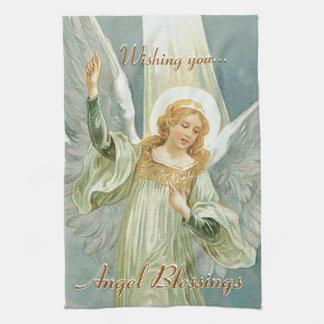 Angel Blessings Tea Towel