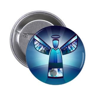 Angel: Blue Angel 6 Cm Round Badge