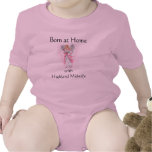 angel, Born at Home with Highland Midwife Tshirt