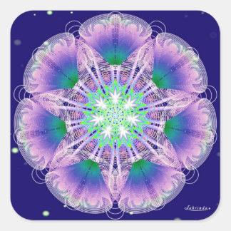 Angel Breath Square Sticker