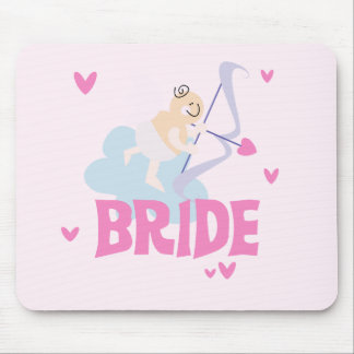 Angel Bride T-shirts and Gifts Mouse Pad