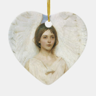 Angel by Abbott Thayer, Vintage Victorian Fine Art Christmas Ornament