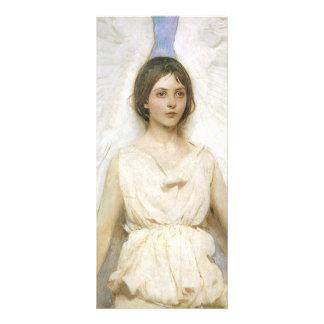Angel by Abbott Thayer, Vintage Victorian Fine Art Personalised Rack Card