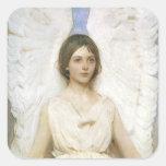 Angel by Abbott Thayer, Vintage Victorian Fine Art Sticker