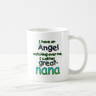 ANGEL CALLED GREAT-NANA COFFEE MUG