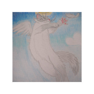 Angel Cat Canvas Prints