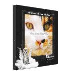 Angel Cat Pet Memorial Photo Canvas Canvas Prints