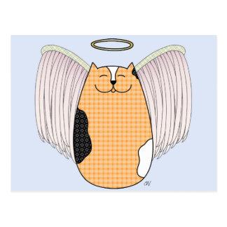 Angel Cat Postcard