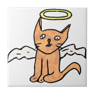 Angel Cat Tile