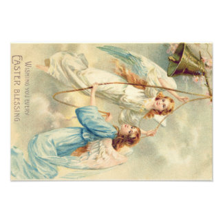 Angel Cherub Heaven Ringing Bell Photographic Print