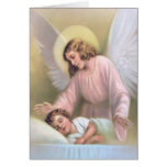Angel Christmas card Greeting Card