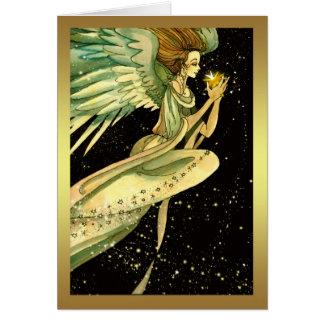 Angel Christmas Card - Season's Greetings