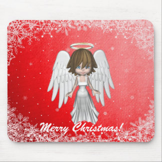 Angel Christmas Mousepad