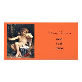 Angel Christmas Photo Greeting Card