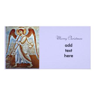 Angel Christmas Custom Photo Card