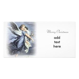 Angel Christmas Photo Card Template