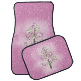 Angel Christmas Tree Orchid Pink ID197 Car Mat