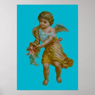 Angel Cornucopia Poster Art