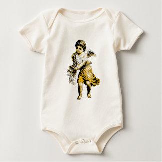 Angel Cornucopia Sketch Baby Bodysuit