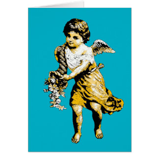 Angel Cornucopia Sketch Card