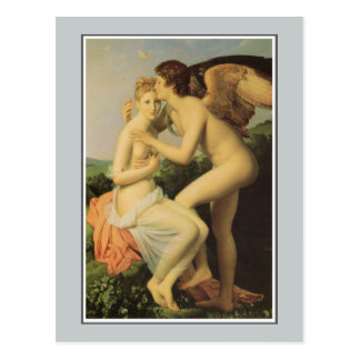 Angel, Cupid and Psyche by Gérard Postcard