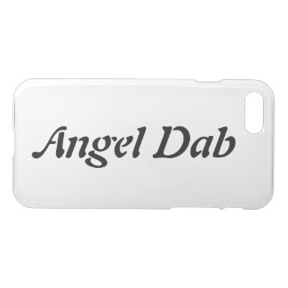 Angel Dab Clear Phone Case
