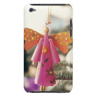 Angel Decoration Hanging from a Christmas Tree iPod Touch Case-Mate Case