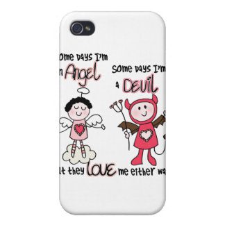 Angel Devil iPhone 4 Case