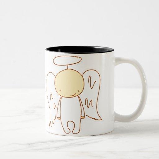 angel/devil mugs