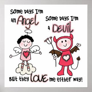 Angel Devil Poster