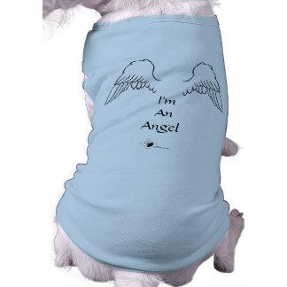 Angel Dog Wings I'm An Angel Shirt