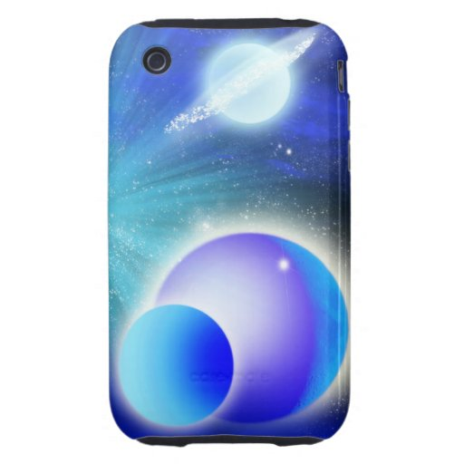 ANGEL DREAMS PLANETS I-PHONE-3G-3GS TOUGH iPhone 3 CASES