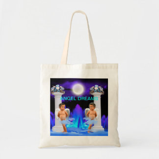 ANGEL DREAMS TWINS TOWER OF POWER CANVAS BAG