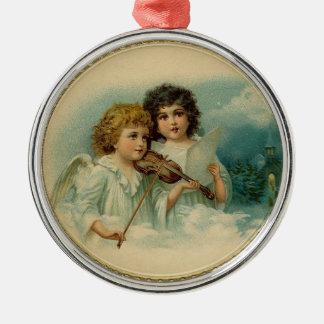 Angel Duet Christmas Ornament