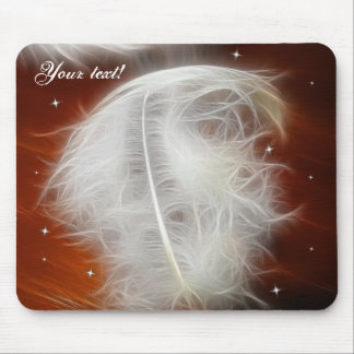 Angel Feather 2 Mouse Mat