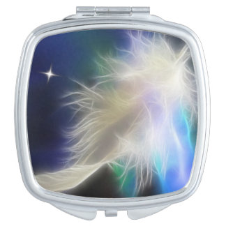 Angel Feather Makeup Mirror