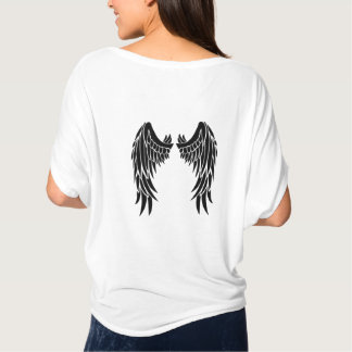 Angel Feathered Wings Shirt for Women