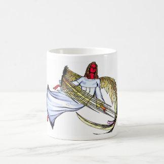 angel female 5 basic white mug