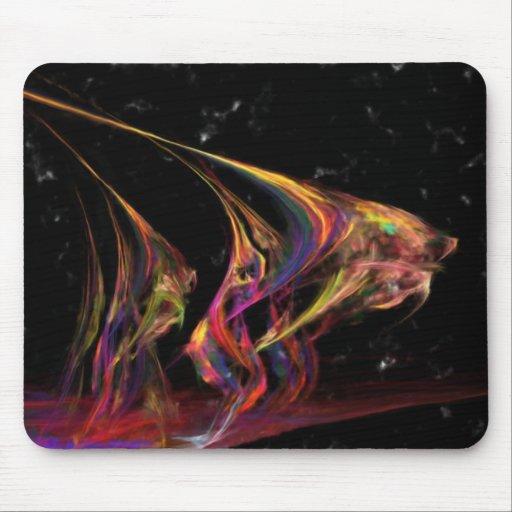 Angel Fish Nebula Mouse Pads
