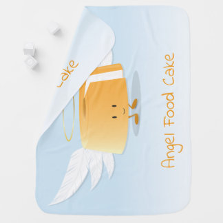 Angel Food Cake   Baby Blanket