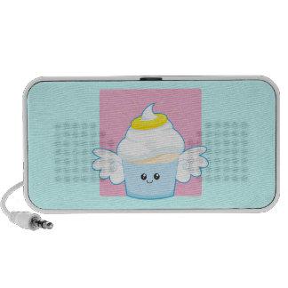 Angel Food Cupcake Notebook Speaker