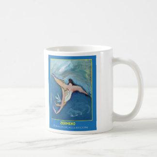 """Angel"" (Four) by Zermeno Basic White Mug"