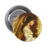 Angel Fresco Design Pin
