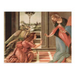 Angel Gabriel And Mary Postcard